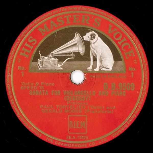 富士レコード社        チェリストのSPレコードあれこれ                          富士レコード社